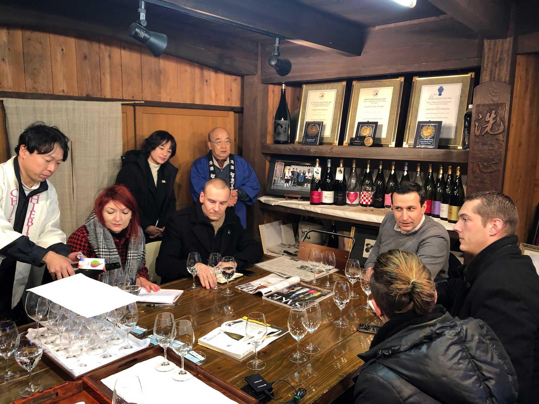 Voyage de formation sur la culture du saké au Japon 2019