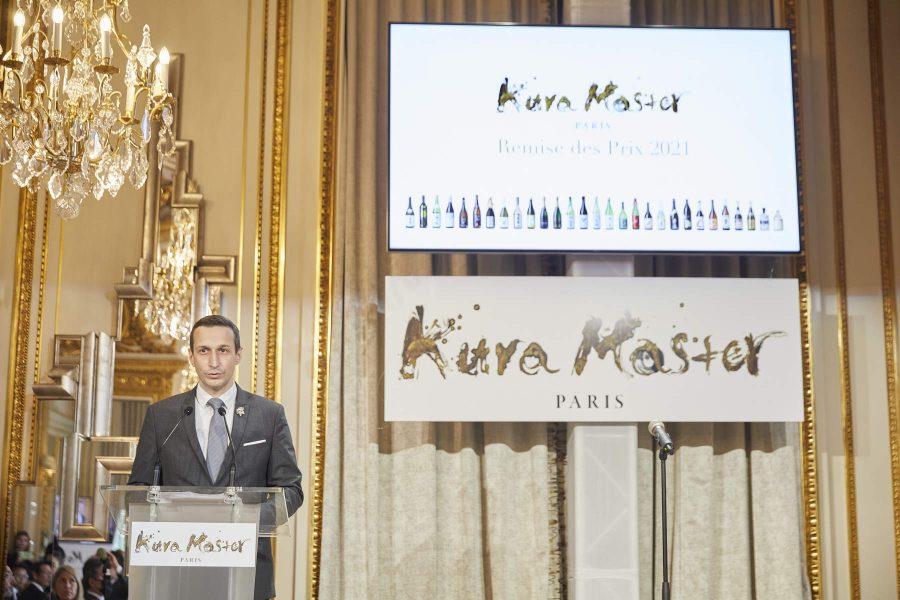 Xavier THUIZAT : Président du Jury sakés japonais