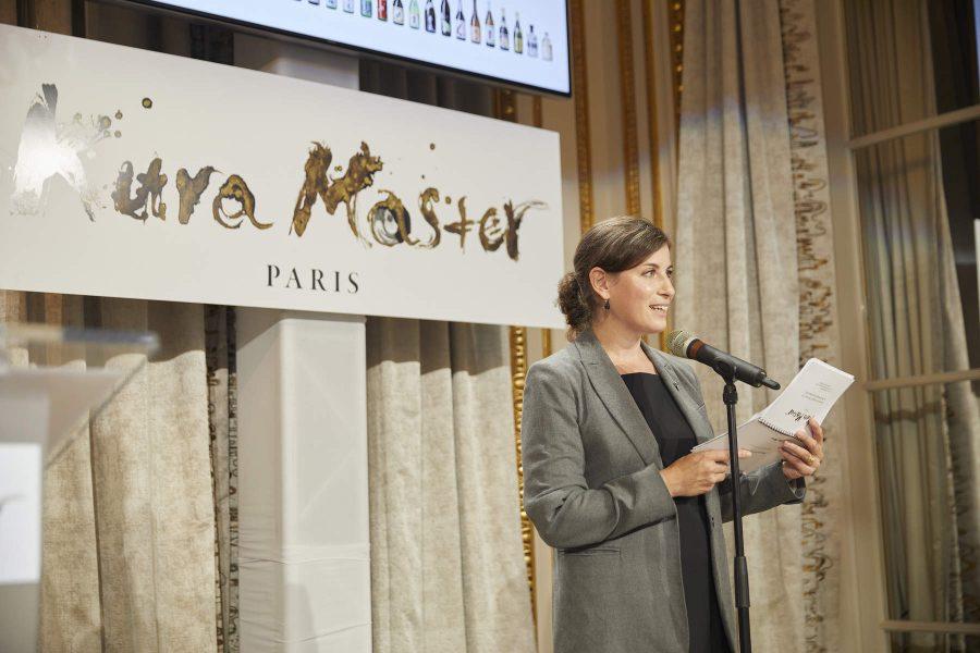 Paz Levinson, présidente-adjointe du Jury Sakéet chef sommelier au sein du Groupe Pic
